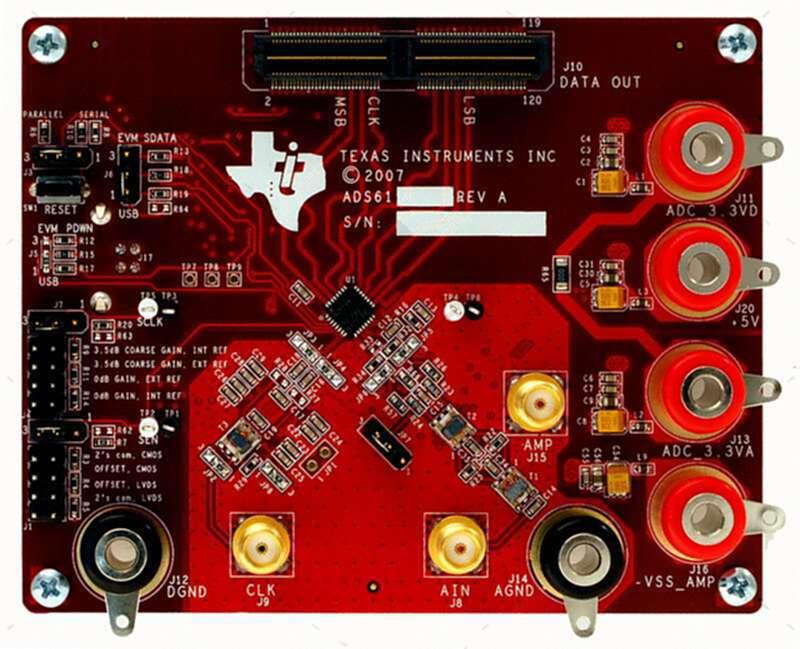 ADS6223EVM_评估板ADC模数转换器